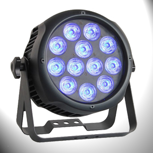 VARYTEC LED PAR Typhoon RGBWAUV 15° IP65